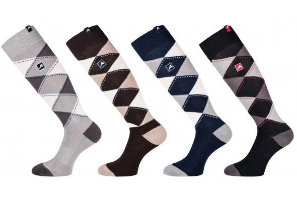 Eurostar Unisex Checked Socks