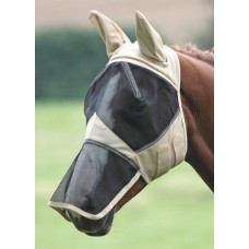 Shires Fly Mask w/Ears and Nose