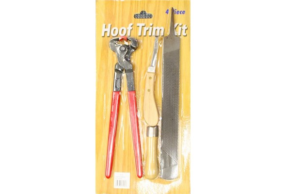 Hoof Trimming Kit 4 Piece