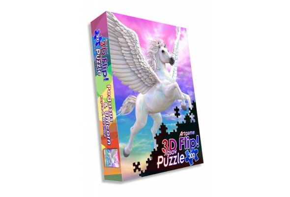 Jigsaw Pegasus & Unicorn 300 pc