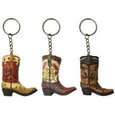 Pure Western Boot Key Chain