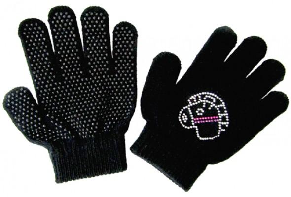 Glove with Horse Design Kid