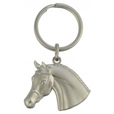 Keyring 3D Horse Head with Bridle