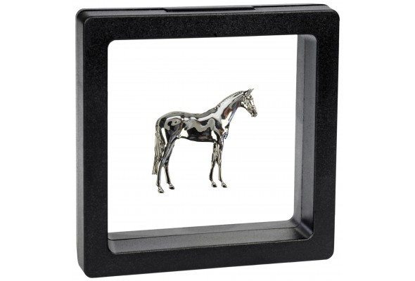 3D Brooch Horse in box