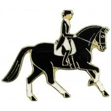 Lapel Pin Dressage Rider
