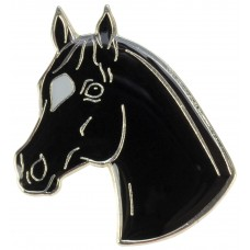 Lapel Pin Horse Head with Star