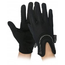 Breathable Glove w/Diamante