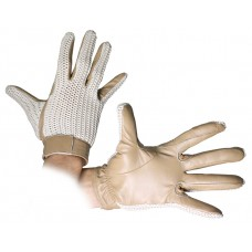 CA Leather Crochet Glove