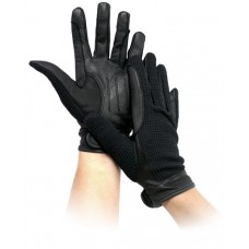 Horse Tech Leather Waffle Glove