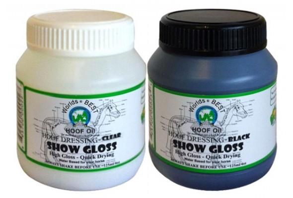 Worlds Best Hoof Oil Show Gloss