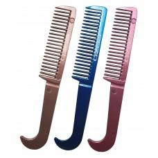 Enzo Aluminium Mane Comb w/Divider
