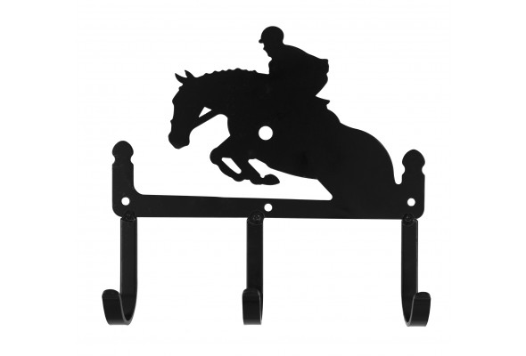 3 Hook Key Holder Jumping Horse