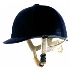 C/A Velvet Riding Helmet