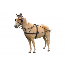 Rolled Leather Mini Show Harness