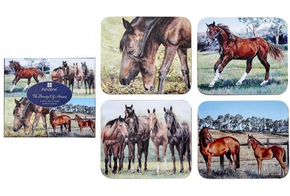 Ashdene Beauty of Horse Coaster