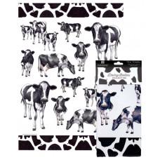 Ashdene Dairy Belles Tea Towel