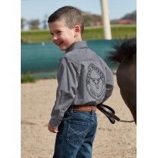 Pure Western Boys Baldwin L/S Shirt