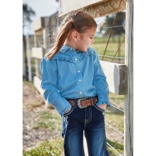 Pure Western Girls Darcy Cham Shirt