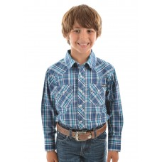 Pure Western Boys Brady L/S Shirt