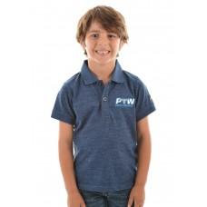 Pure Western Boys Bryson S/S Polo