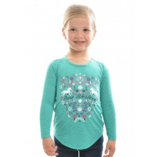 Pure Western Girls Felicity L/S Top