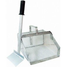 Manure Scoop with Fork Metal - Short