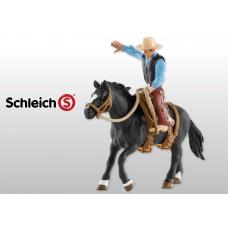Schleich - Bronc Riding with Cowboy