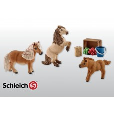 Schleich - Mini Shetland Pony Family