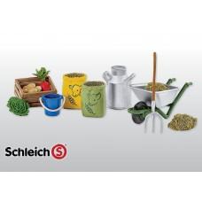 Schleich - Feeding Groom Farm