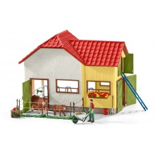 Schleich - Barn with Accessories