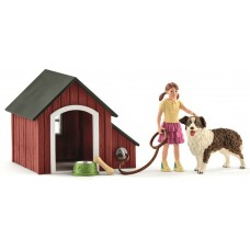 Schleich - Dog Kennel Set