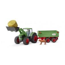 Schleich - Tractor with Trailer