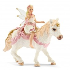 Schleich - Delicate Lily Elf Riding Pony