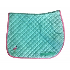 Enzo Flamingo Pony Saddle Pad