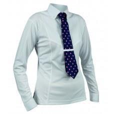 Shires Ladies L/S Tie Shirt