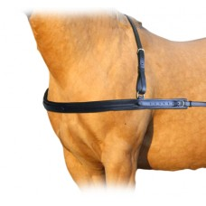 Enzo Straight Leather Breastplate