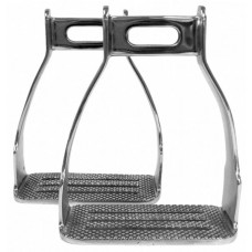 Four Bar SS Stockman Stirrup Irons