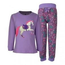 TC Girls Horse Applique PJs