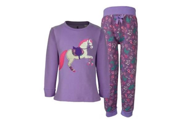 TC Girls Horse Applique PJs
