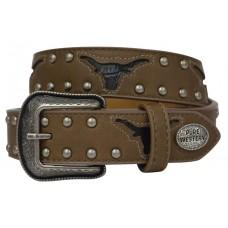 Pure Western Boys Bullhorn Belt