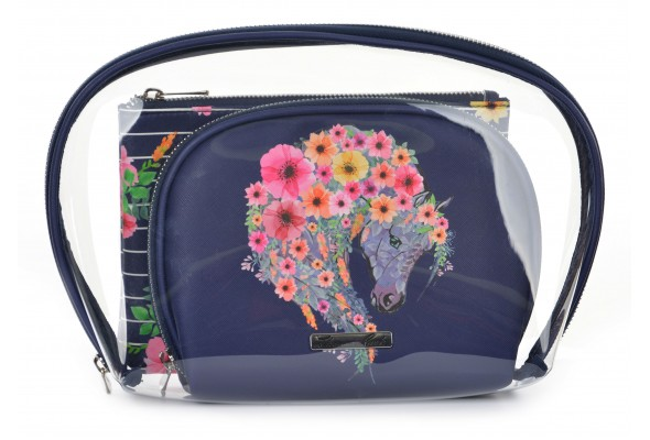 Thomas Cook Cosmetic Bag 3 in 1