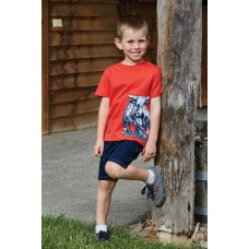 Thomas Cook Boys BullAppliqueS/S Tee