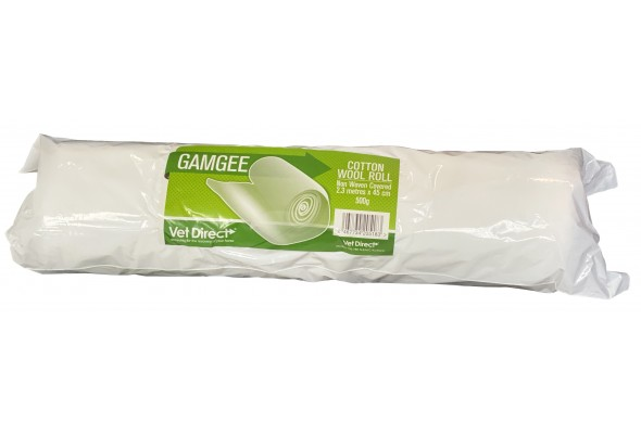 Vet Direct Cotton Wool/Non Woven Roll