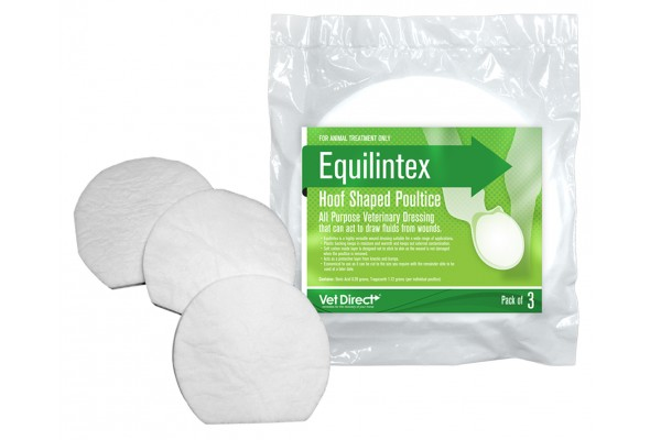 Vet Direct Equilintex Hoof Shaped 3Pk