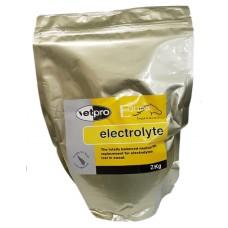 Vetpro Electrolytes 2KG Orange