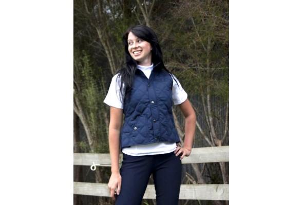 Club Quilted Vest Ladies