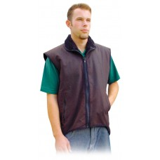 Oilskin Vest Fleece Lined
