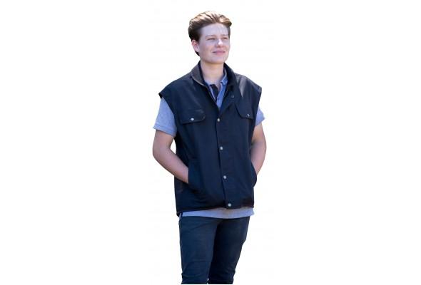 Oilskin Vest w/out Sleeve