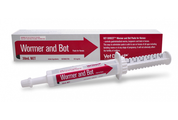 Vet Direct Wormer and Bot Paste