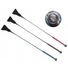 Enzo Metallic Riding Crop